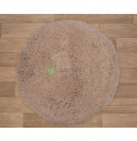 Kilimas Shaggy Exclusive Taupe Round