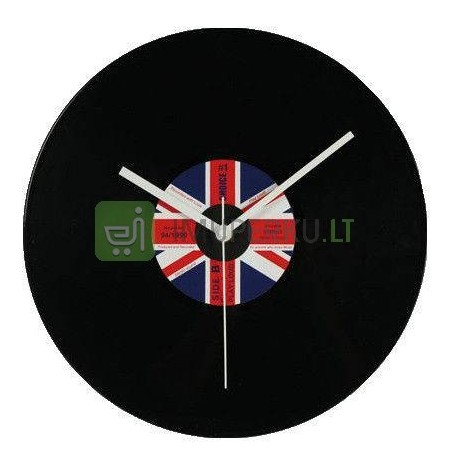 """Vinyl"" wall clock UK"