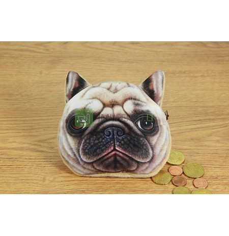 3D Dog coin bag model 3