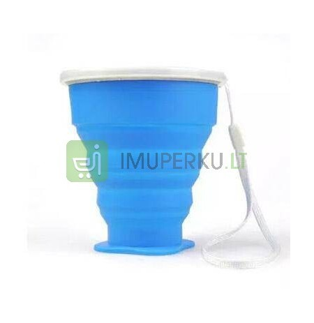 Collapsible outdoor cup