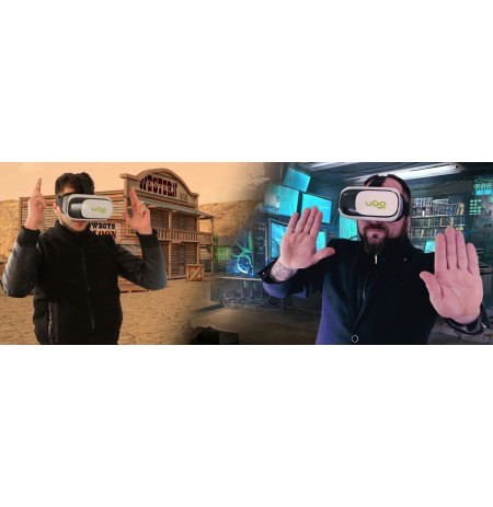 VR 3D + GamePad glasses for virtual reality