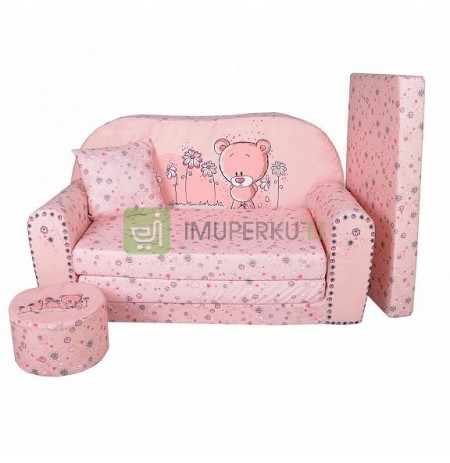 Teddy Bear sofa bed children's reclining bed