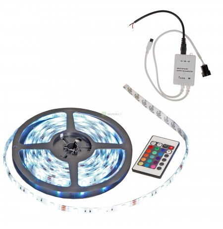 Led juosta 5 m. (be transformatoriaus)