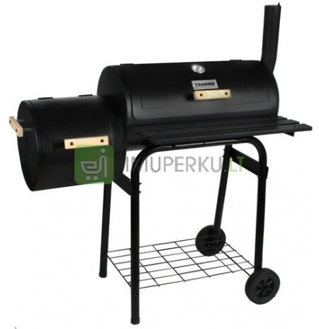 BBQ Grill Smoker Grill Cart Charcoal Grill Barbecue Smoker Stove Grill 5165