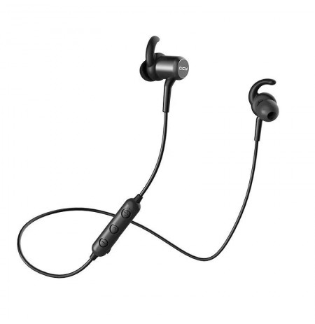 QCY M1c Magnetic Bluetooth Earphones black (QCY-M1c)