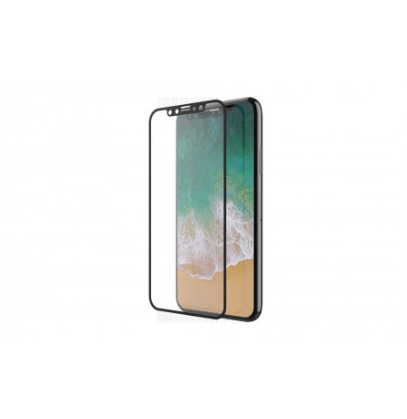 Devia Van Entire View Full Tempered Glass iPhone XR (6.1) black (10pcs)