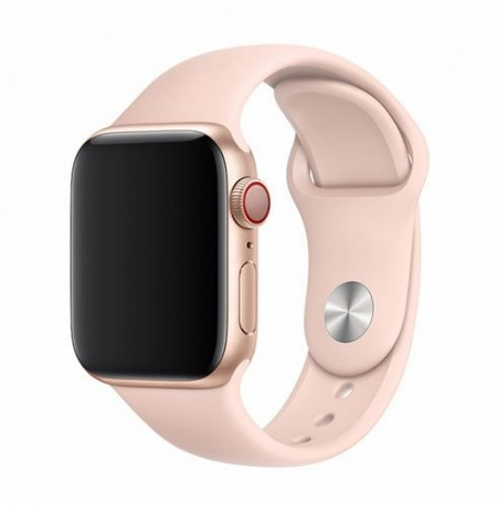 Devia Deluxe Series Sport Band (44mm) for Apple Watch pink sand