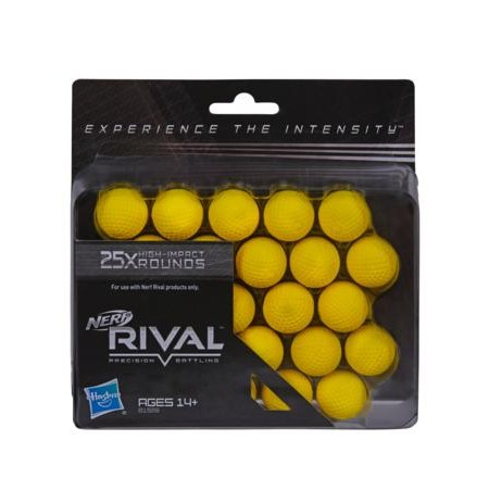 NERF RIVAL 25-ROUND REFILL PACK B1589