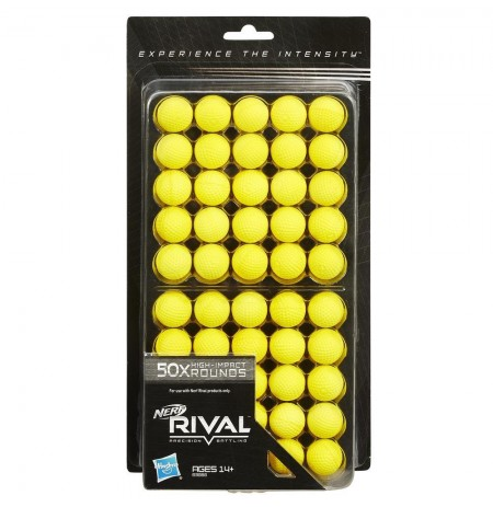 NERF RIVAL 50-ROUND REFILL PACK B3868