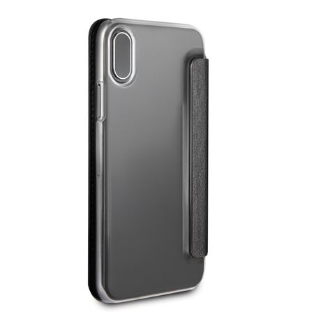 Guess Iridescent Book Case black for Iphone X (GUFLBKPXIGLTBK)