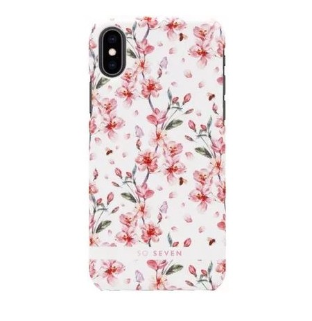 SoSeven Fashion Tokyo Cherry Blossom Flowers Cover for Iphone X/XS