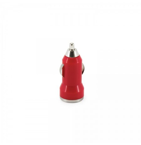 Sbox Car Charger CC-221R / 2 Ports - 2.1A strawberry red