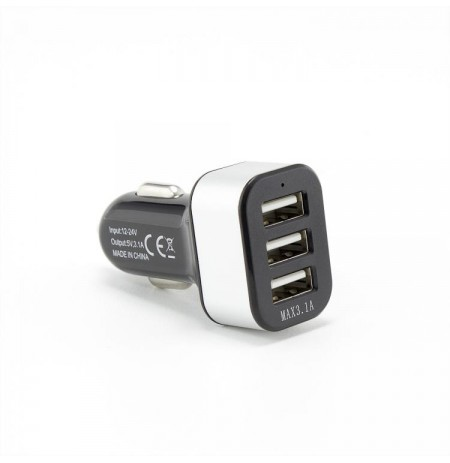 Sbox Car Charger CC-331B 3.1A black/grey