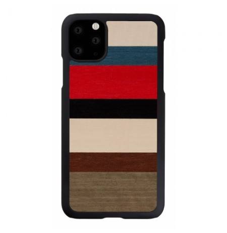 MAN&WOOD SmartPhone case iPhone 11 Pro Max corallina black