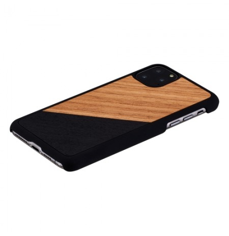 MAN&WOOD SmartPhone case iPhone 11 Pro Max western black