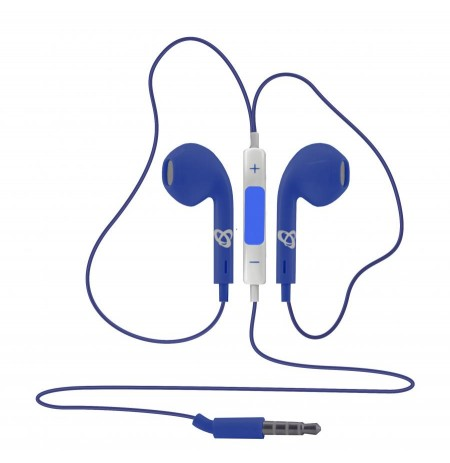 Sbox iN ear Stereo Earphones iEP-204BL blue