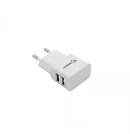 Sbox Dual Usb Home Charger 2.1A HC-23