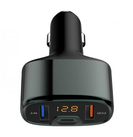 Tellur Car Charger CCY4 5.4A (2xUSB + Type-C) black