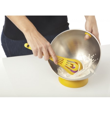 ViceVersa Kogel Mogel Bowl + Whisk Set yellow 16221