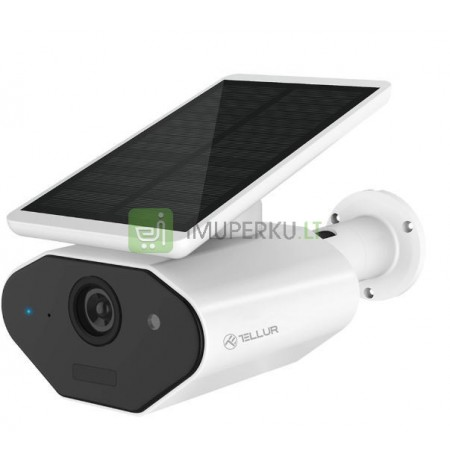 Tellur WiFi Smart Outdoor Solar Camera 960P white