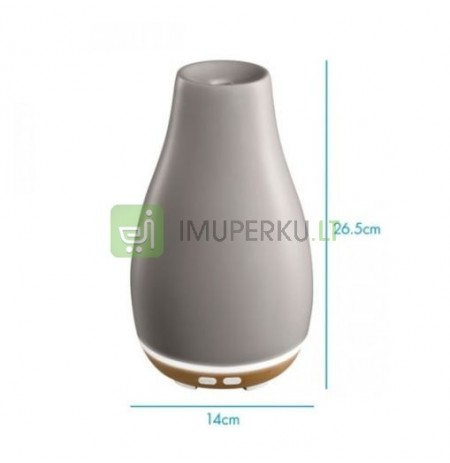 Ellia Blossom Ultrasonic Diffuser with Ambient Mood Lighting ARM-510GYA-WW