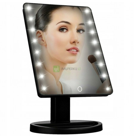 ILLUMINATED COSMETIC MIRROR FOR LED MAKE-UP