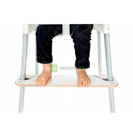 Adjustable footrest for the IKEA Antilop high chair