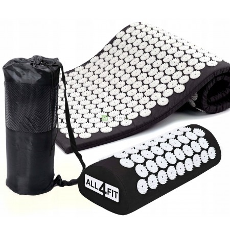 MAT + PILLOW FOR ACUPRESSURE SPIKES FOR PAIN AND STRESS