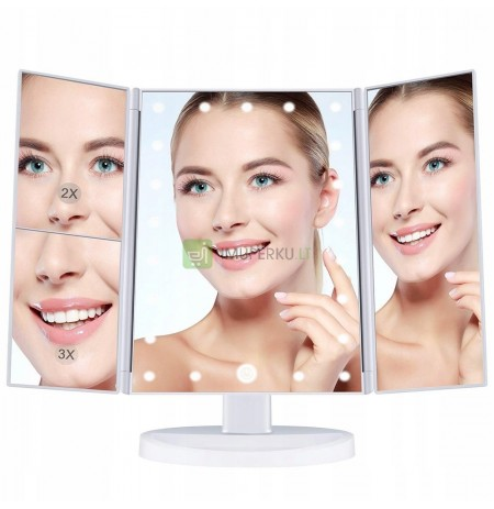 ILLUMINATED MAKE-UP MIRROR LED COSMETIC