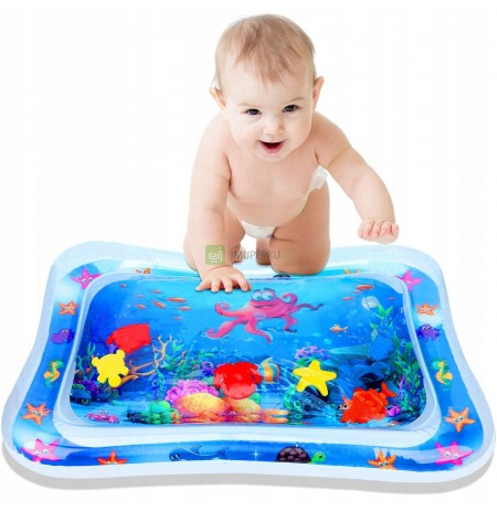 INFLATABLE SENSORY WATER MAT FOR BABIES XXL2