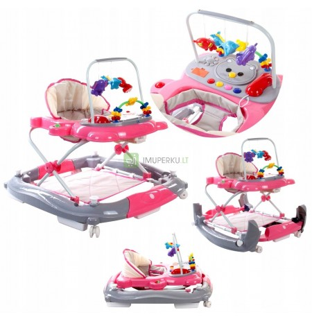 MULTIMEDIA baby walker 2in1 Rubber Wheels