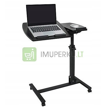 EXCELLENT ADJUSTABLE LAPTOP TABLE on WHEELS