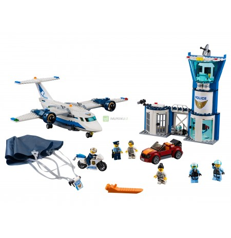 LEGO City Sky Police Sky Base 60210