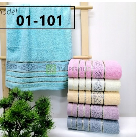 SET OF TERRY TOWELS 6x 50x100 THICK TOWELS