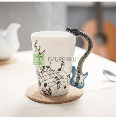 Music mug - GUITAR BLUE
